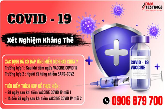 KHI NÀO THÌ CẦN KIỂM TRA KHÁNG THỂ VIRUS SARS-COV-2?
