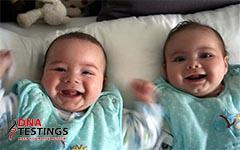 Những cặp song sinh khác cha chấn động thế giới