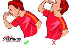 Chảy máu cam nên cúi đầu ra trước hay ngửa đầu ra sau mới đúng?